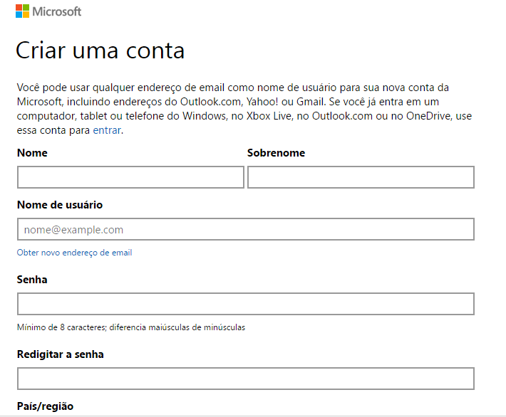 Hotmail Login : Entrar com senha www.hotmail.com