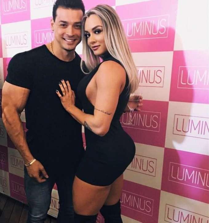 (Reprodução/Instagram) - Juju Salimeni - Assista ao vídeo : Felipe Franco traiu Juju Salimeni com ex-bailarina do Faustão